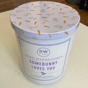 DW Home Hand Poured Candle Somebunny Loves You